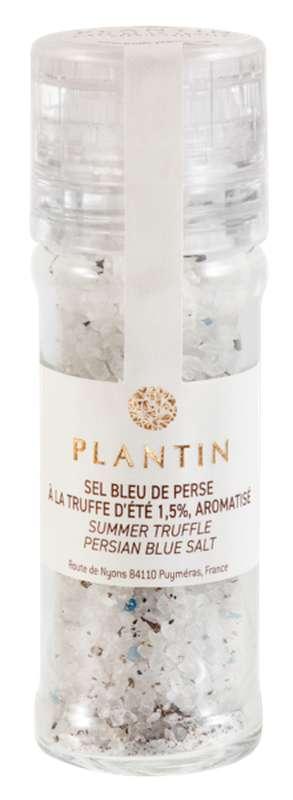 Sel bleu de Perse à la truffe d'été 1,5%, aromatisé, Plantin (100 g)
