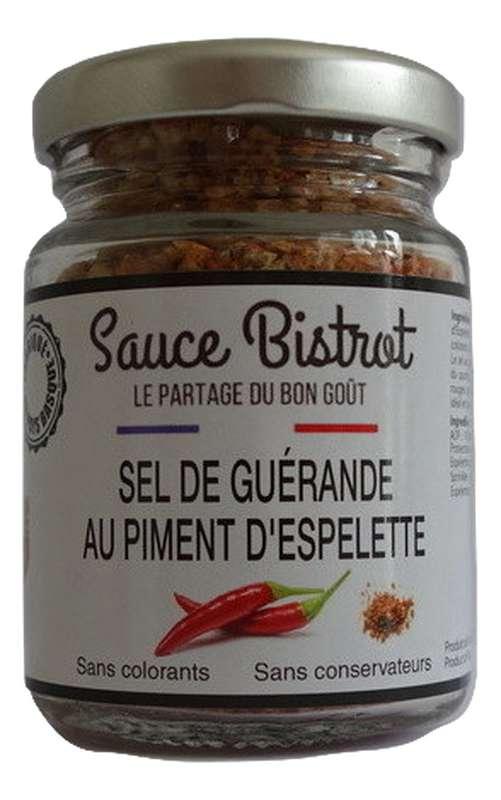 Sel de Guérande au piment d'Espelette, Sauce Bistrot (90 g)