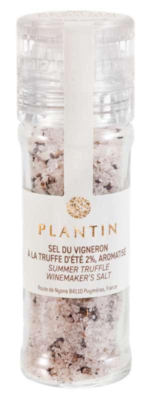 Sel du vigneron à la truffe d'été 2% aromatisé, Plantin (90 g)