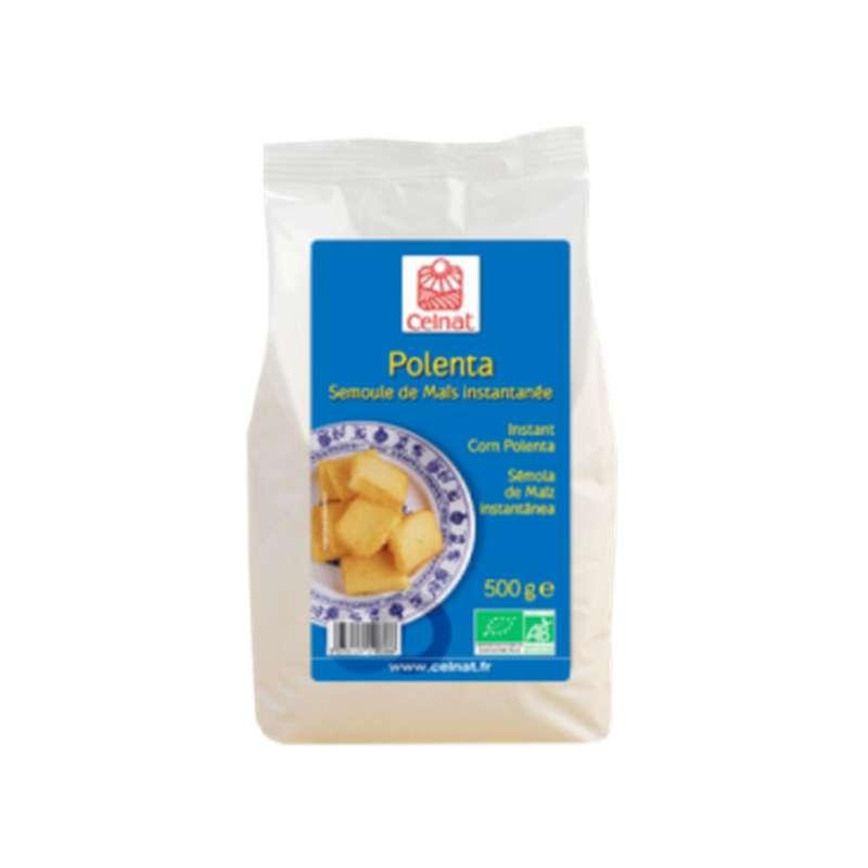 Polenta - semoule de maïs instantanée BIO, Celnat (500 g)