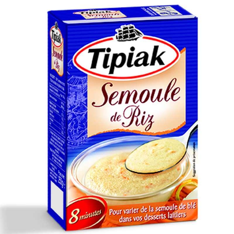 Semoule de riz, Tipiak (250 g)