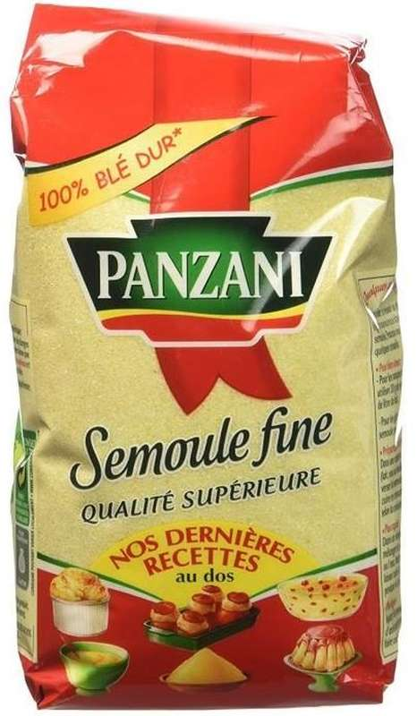Semoule de blé fin, Panzani (500 g)