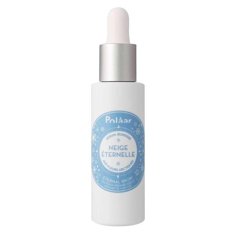 Sérum visage jeunesse Neige Éternelle aux fleurs arctiques, Polaar (30 ml)