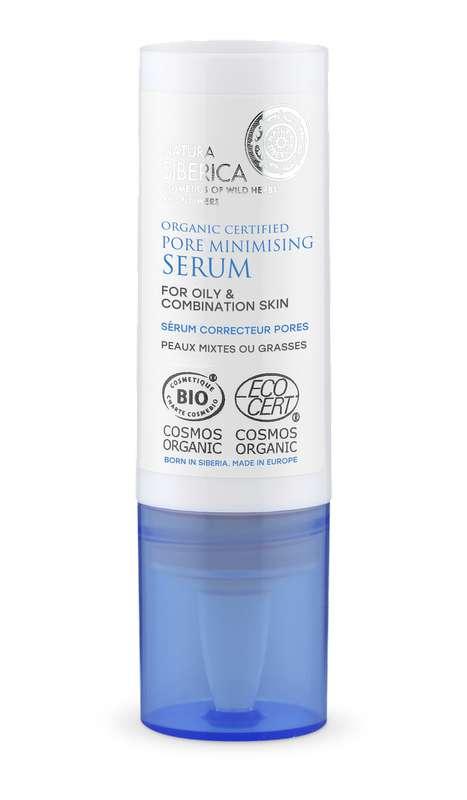 Sérum visage correcteur pores peaux mixtes ou grasses au Sophora de Khakassie BIO, Natura Siberica (15 ml)
