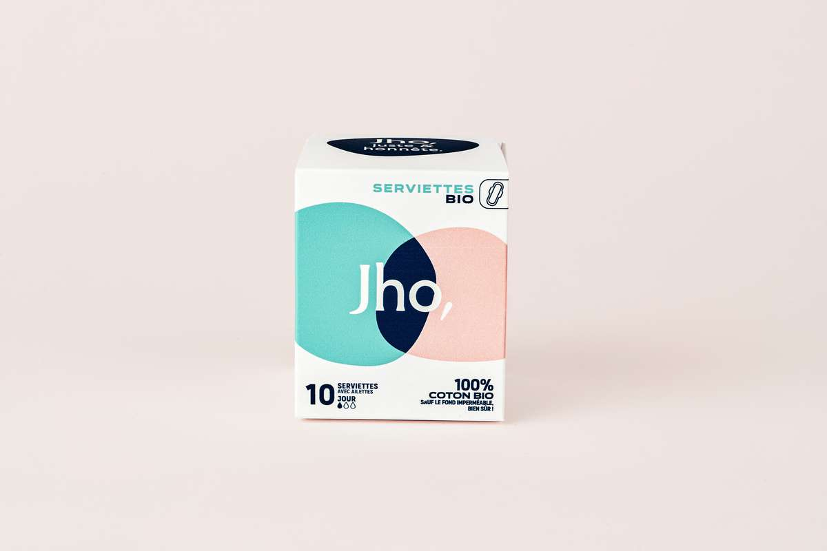 Serviettes hygiéniques Jour, JHO (x 10)