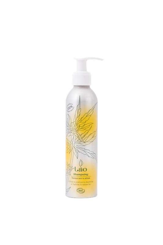 Shampoing 100% naturel nourrissant au chanvre BIO, Lao (200 ml)