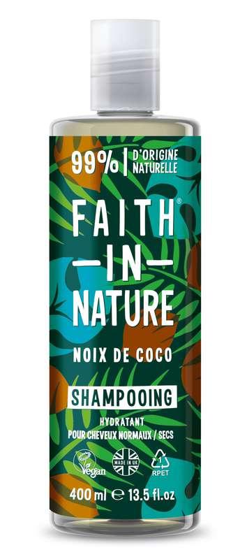 Shampoing à la noix de coco, Faith In Nature (400 ml)