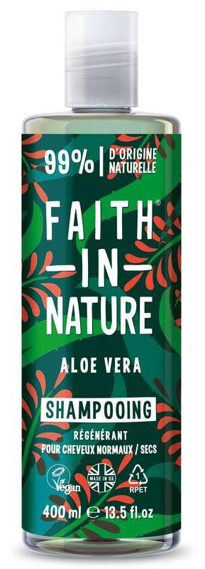 Shampoing Aloe Vera, Faith In Nature (400 ml)