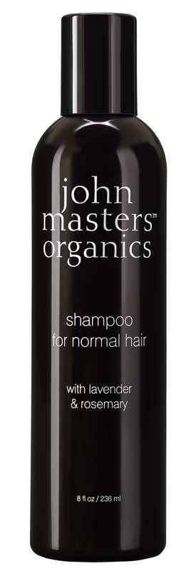 Shampoing cheveux normaux lavande & romarin, John Masters Organics (236 ml)