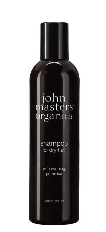Shampoing cheveux secs à l'huile d'onagre BIO, John Masters Organics (236 ml)