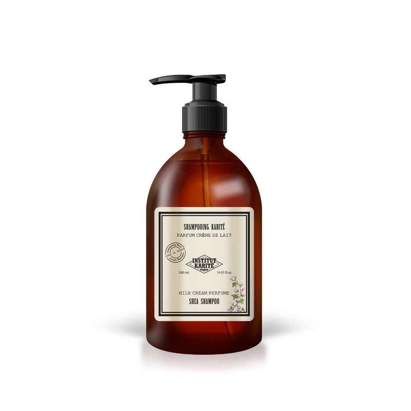 Shampoing collection Vintage - Crème de lait, Institut Karité (500 ml)