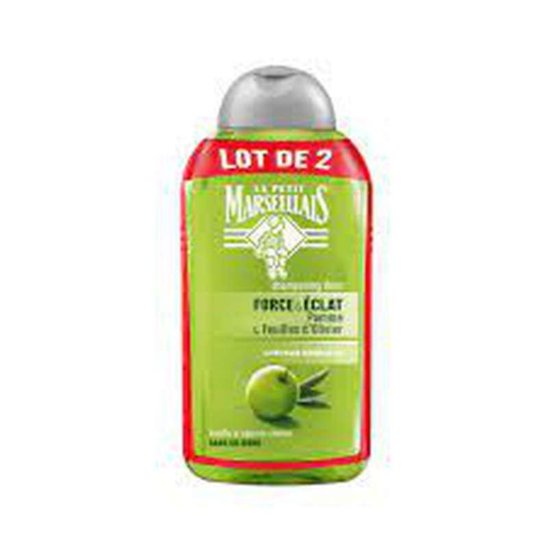 Shampoing éclat pomme & olive, Le Petit Marseillais LOT DE 2 (2 x 250 ml)