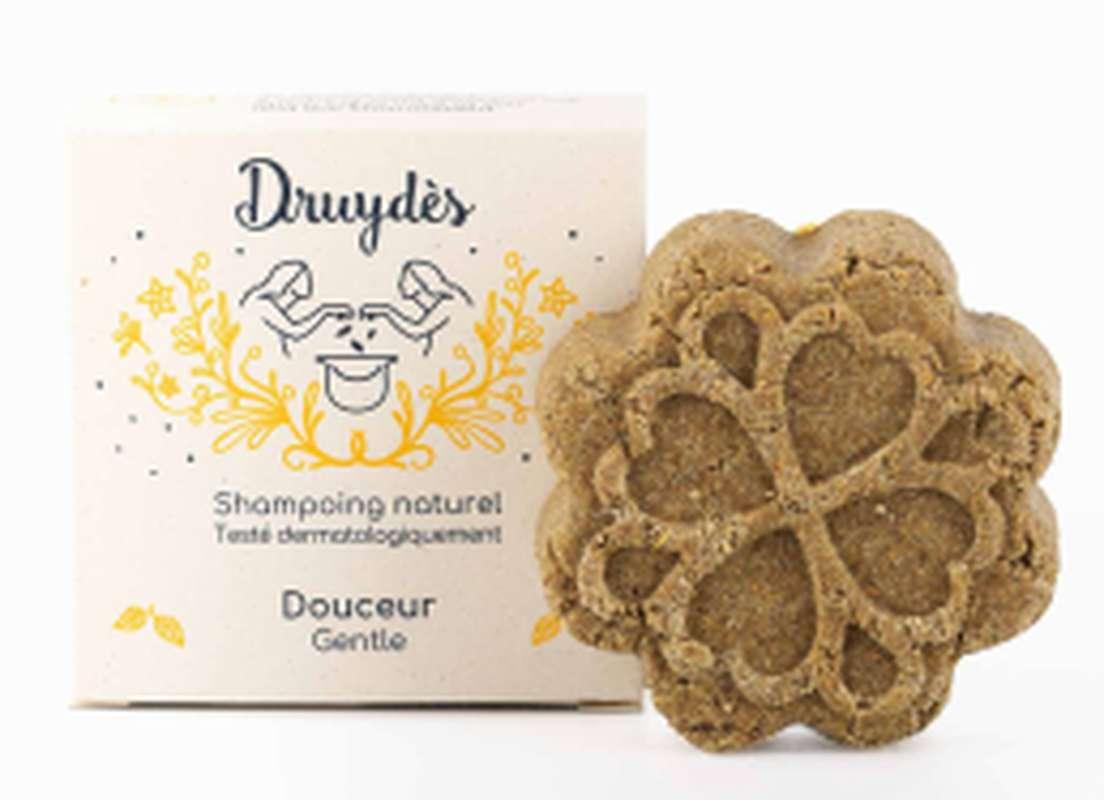 Shampoing solide douceur BIO, Druydès (70 g)