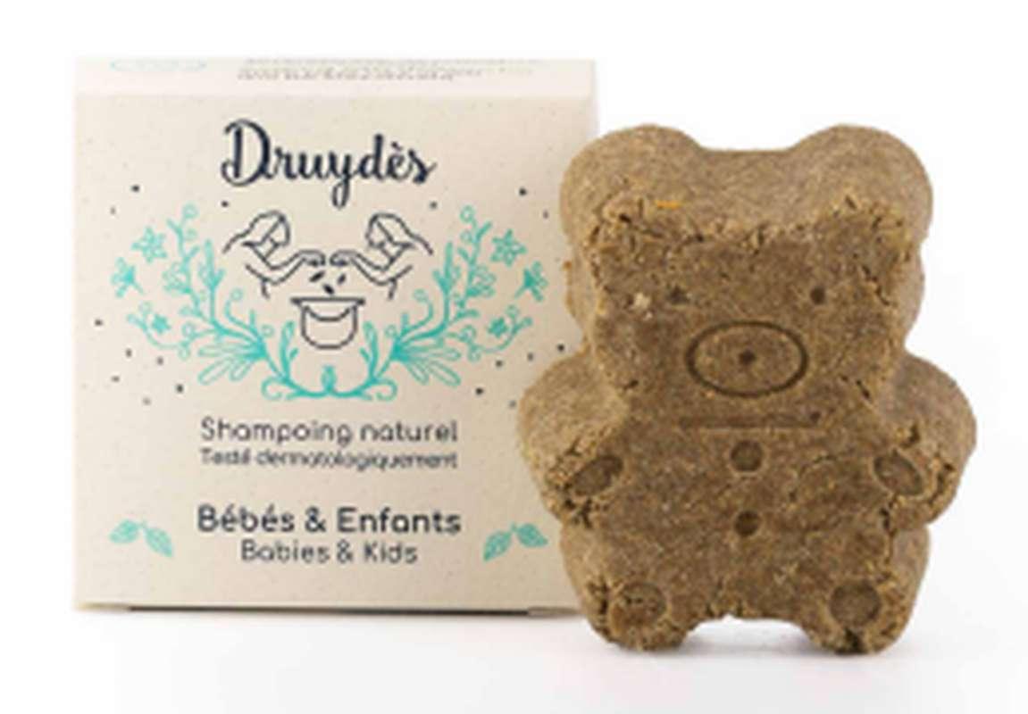 Shampoing solide pour bébés et enfants BIO, Druydès (70 g)