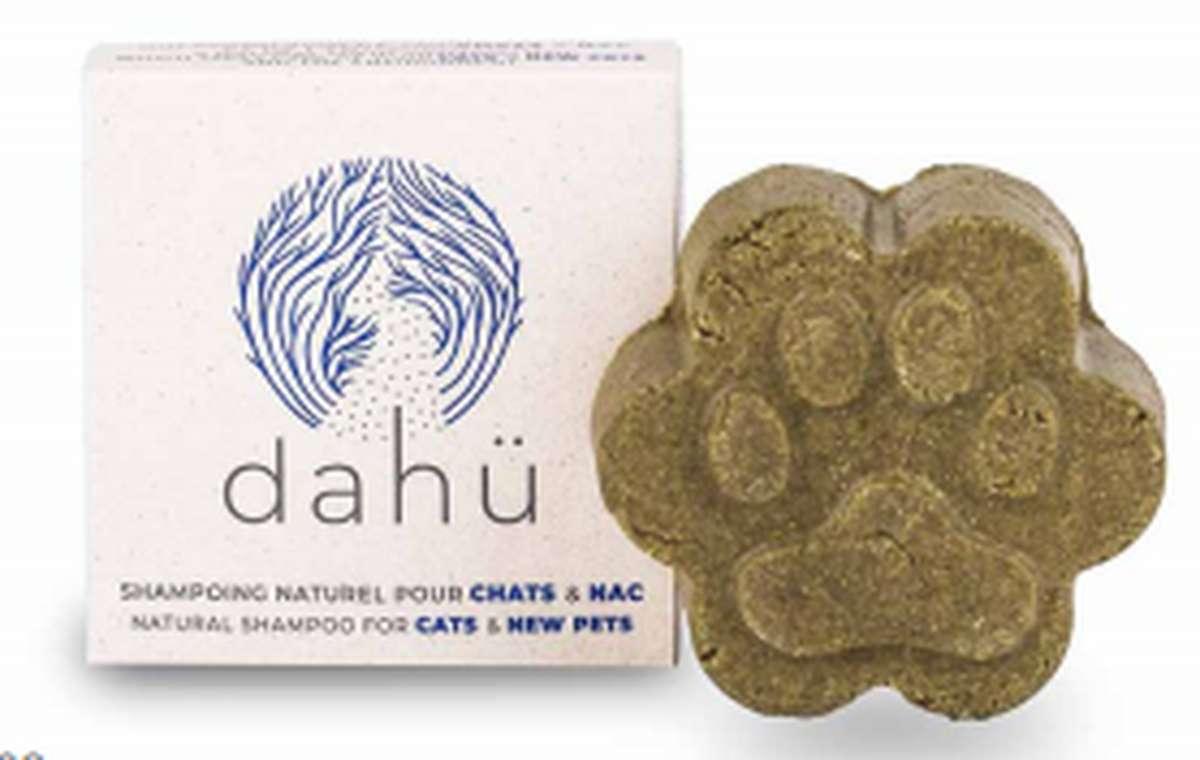 Shampoing solide pour chats BIO, Dahü (80 g)