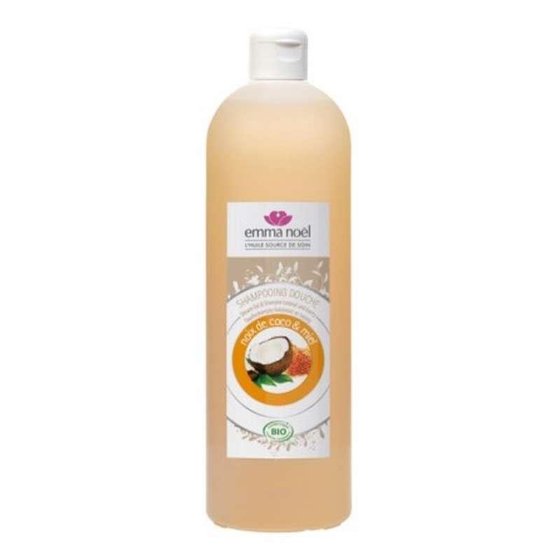 Shampooing-douche miel-coco BIO, Emma Noel (1 L)