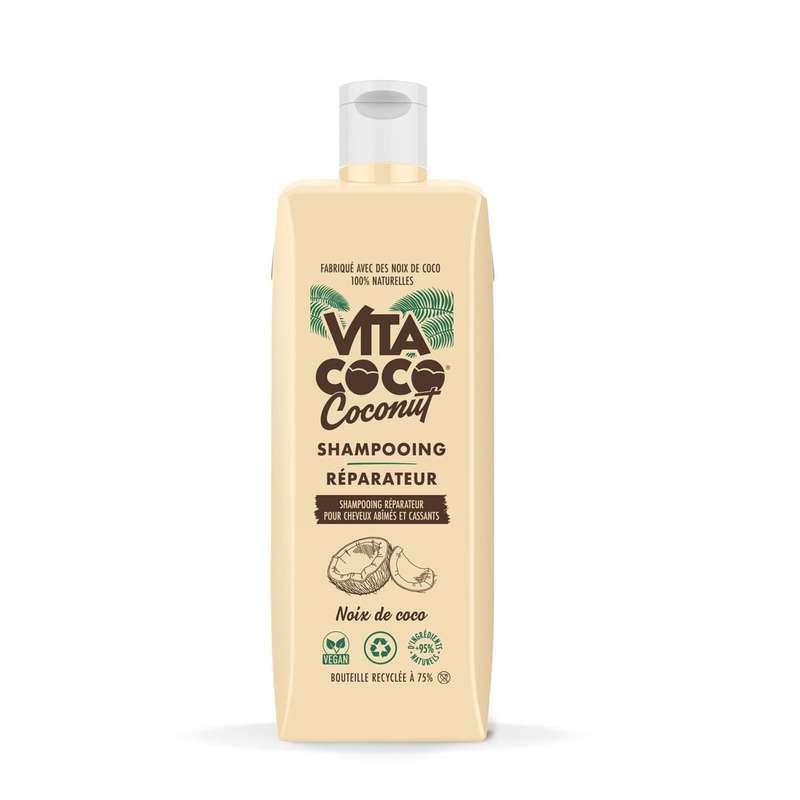 Shampooing Réparateur pour cheveux abîmés et cassants, Vita Coco (400 ml)