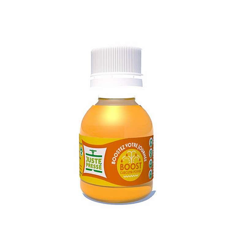 Shot Boost Curcuma et Poivre, Juste Pressé (60 ml)