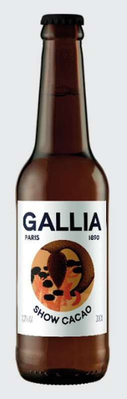 Show Cacao 7,7% bière acide, Gallia (33 cl)