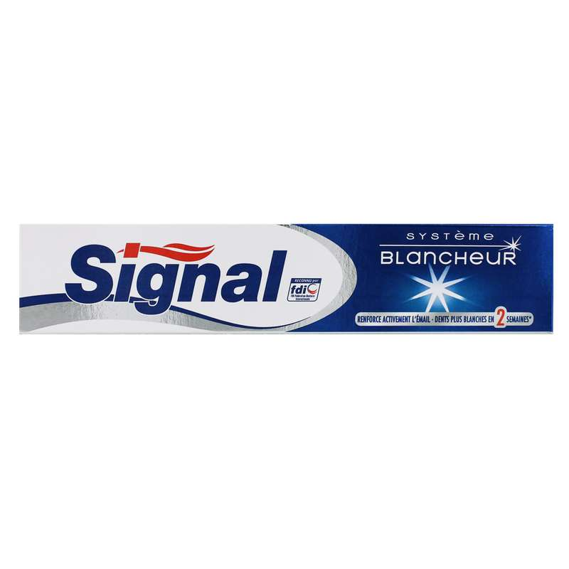 Dentifrice système blancheur, Signal (75 ml)