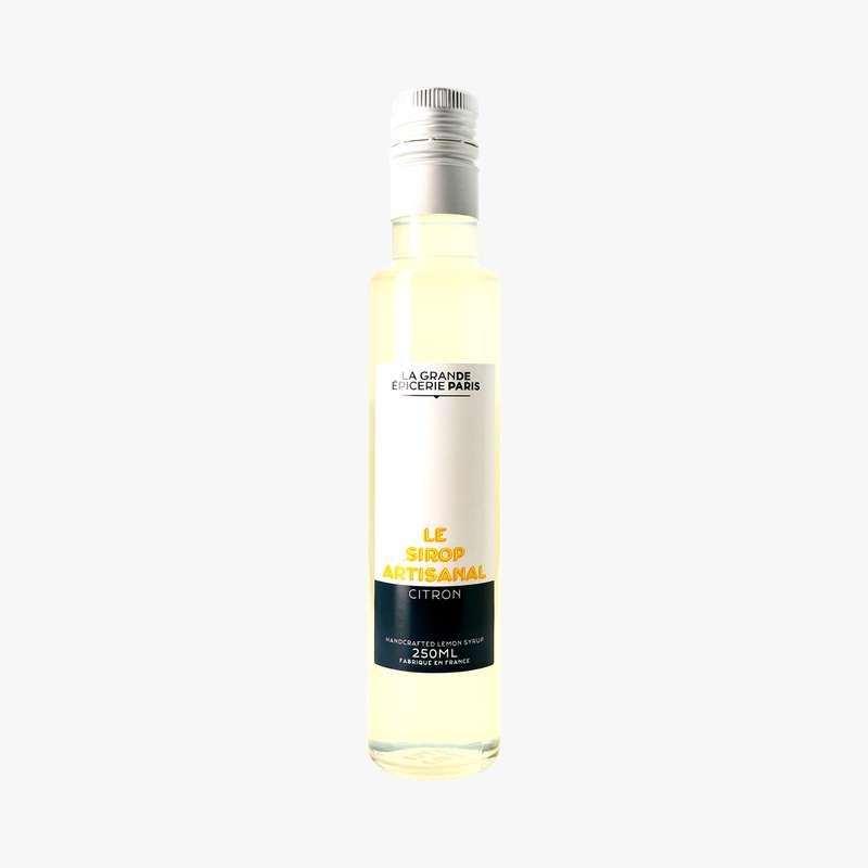 Sirop artisanal de citron, La Grande Epicerie de Paris (25 cl)