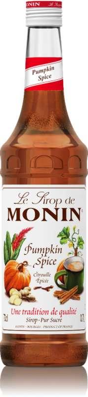 Sirop de Citrouille Épicée, Monin (70 cl)