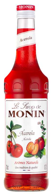 Sirop d'Acerola, Monin (70 cl)