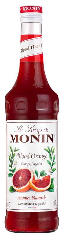 Sirop d'Orange Sanguine, Monin (70 cl)