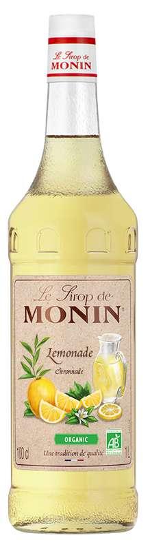 Sirop de Citronnade BIO, Monin (1 L)