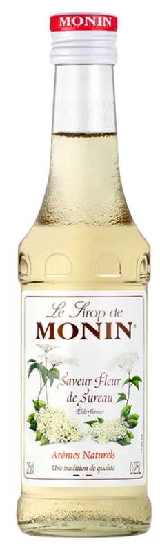Sirop saveur Fleur de Sureau, Monin (25 cl)