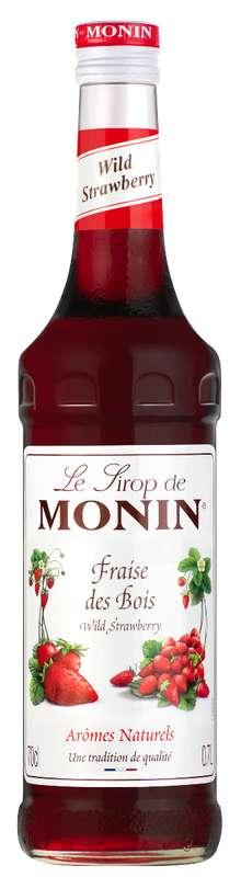 Sirop de Fraise des Bois, Monin (70 cl)