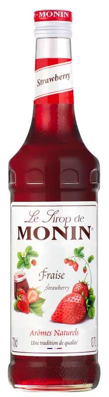 Sirop de Fraise, Monin (70 cl)