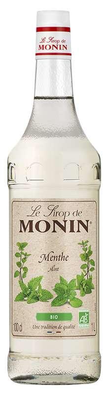 Sirop de Menthe BIO, Monin (1 L)