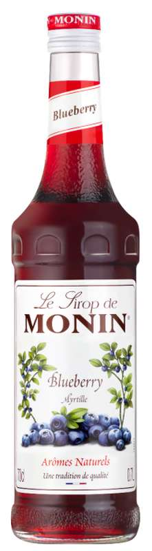 Sirop de Myrtille, Monin (70 cl)