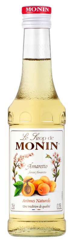 Sirop saveur Amaretto, Monin (25 cl)