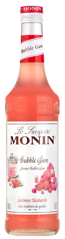 Sirop saveur Bubble Gum, Monin (70 cl)