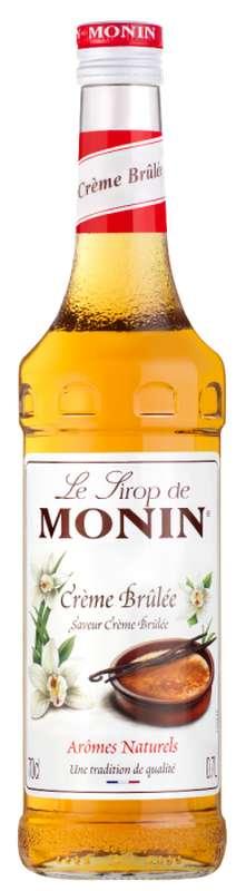 Sirop saveur Crème Brulée, Monin (70 cl)