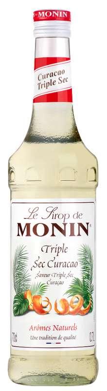 Sirop saveur Curaçao Triple Sec, Monin (70 cl)