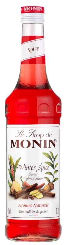 Sirop saveur Épices d'Hiver, Monin (70 cl)