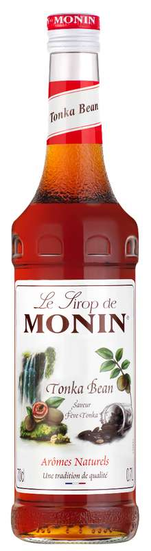 Sirop saveur Fève de Tonka, Monin (70 cl)