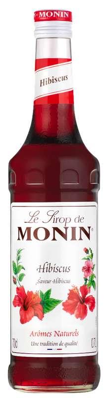 Sirop saveur Hibiscus, Monin ( 70 cl)