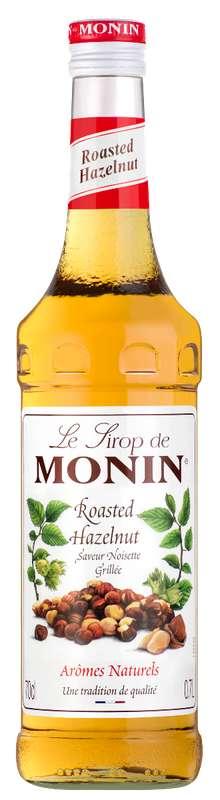 Sirop saveur Noisette Grillée, Monin (70 cl)