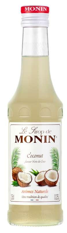 Sirop saveur Noix de Coco, Monin (25 cl)