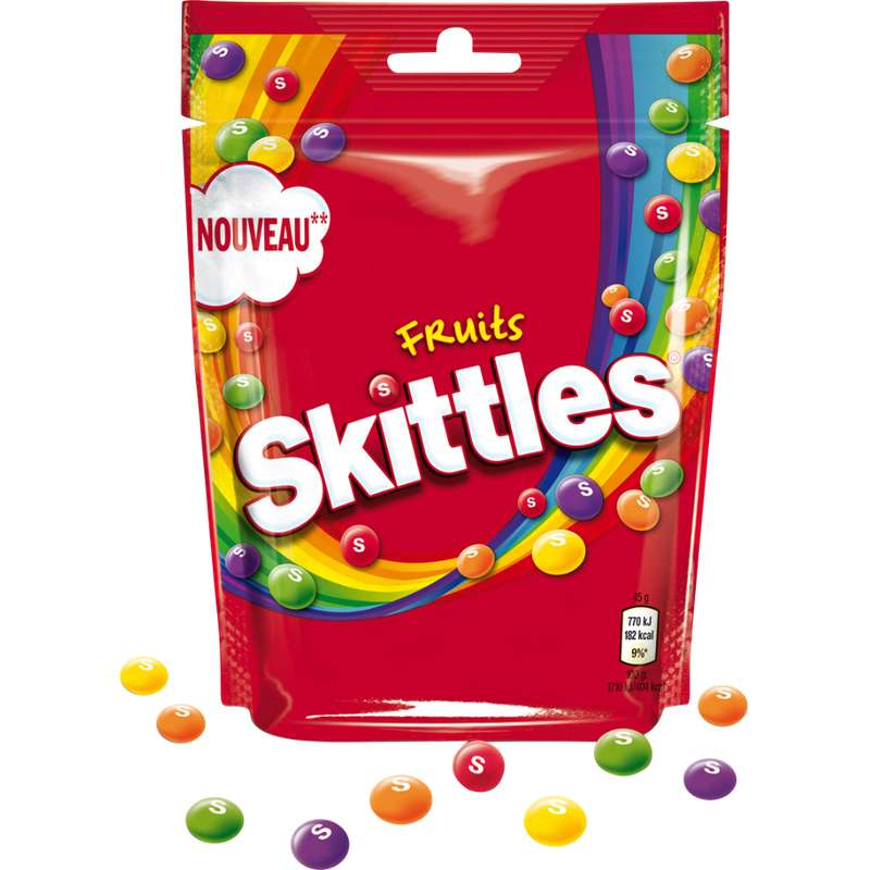 Bonbons acidulés aux fruits, Skittles (174 g)