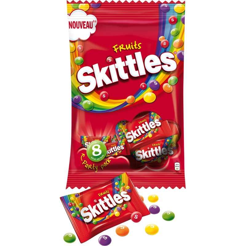 Bonbons acidulés aux fruits, Skittles (8 x 26 g, 208 g)