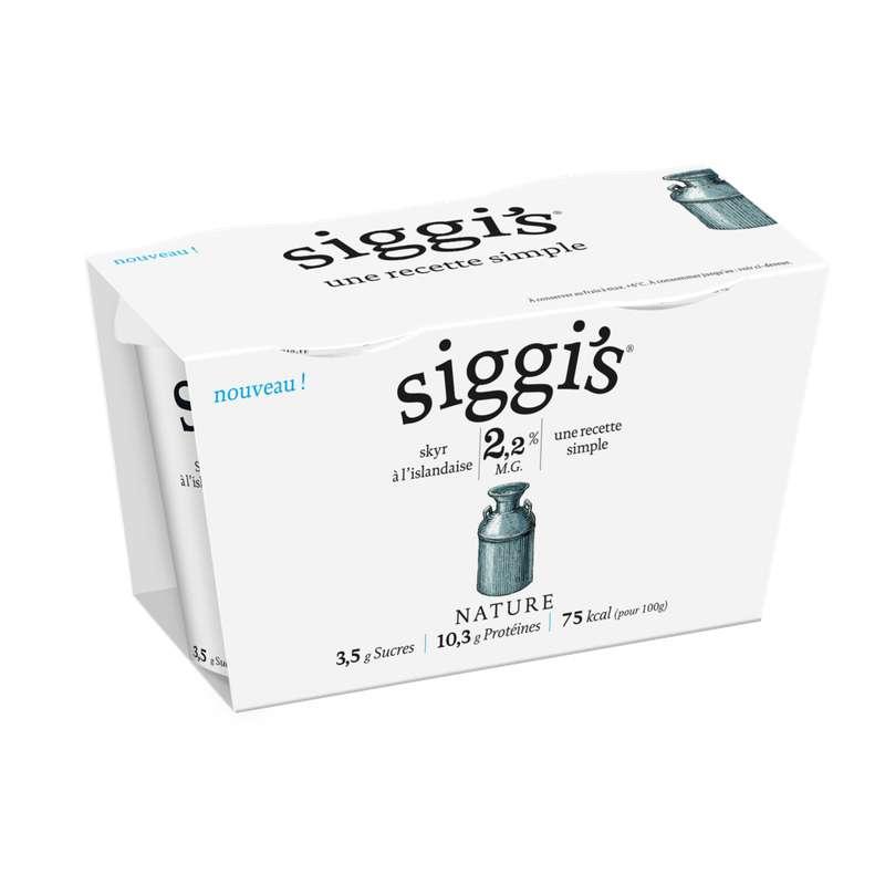 Skyr nature, Siggi's (2 x 140 g)