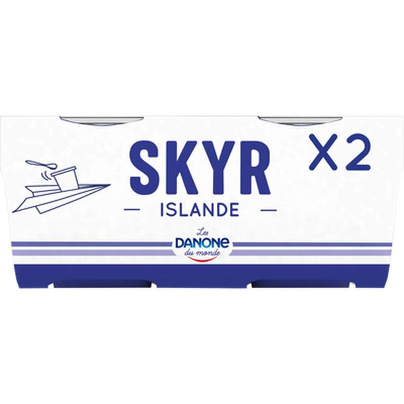 Skyr Nature, Danone (2 x 140 g)