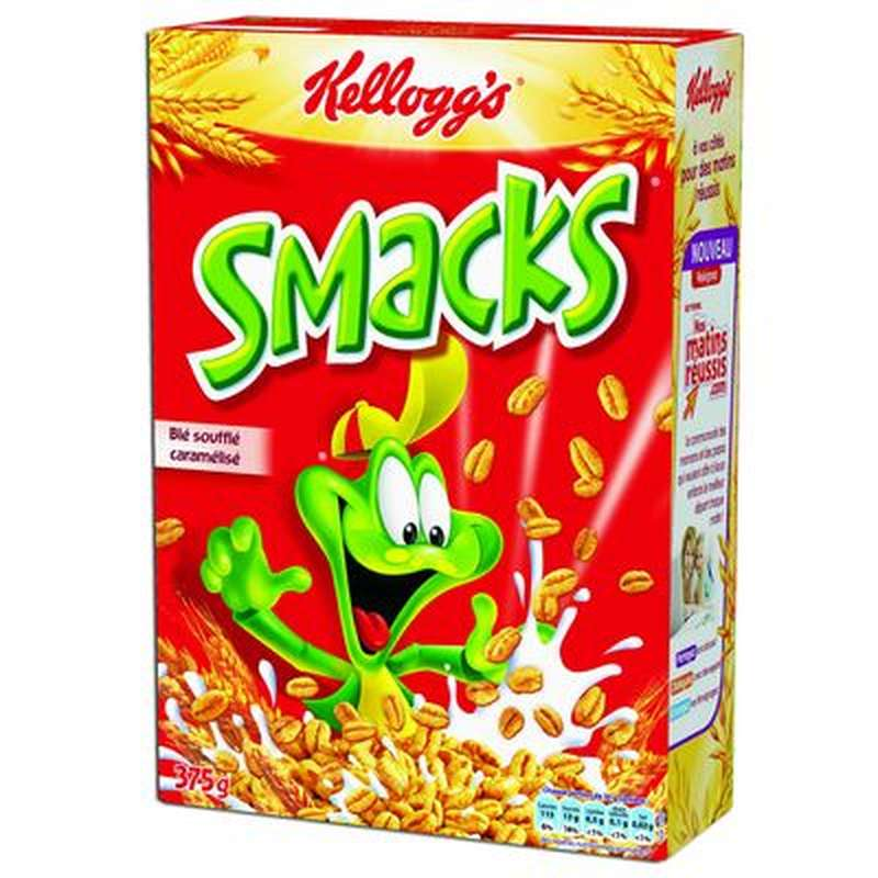 Céréales Smacks, Kellogg's (400 g)
