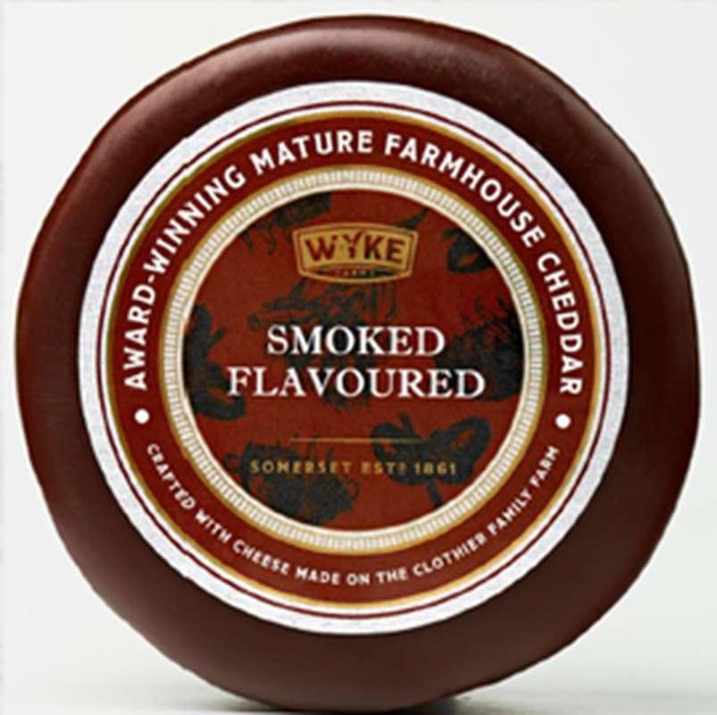 Cheddar cire Smoked, Wyke Farms Wyke (100 g)