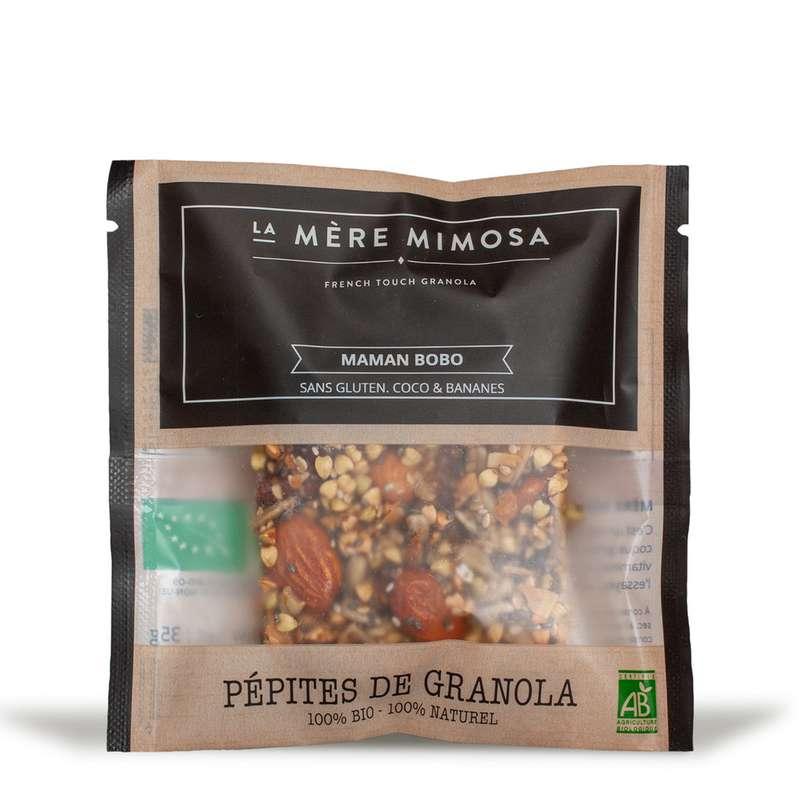 """Snack de granola artisanal """"Maman Bobo"""" BIO, La Mère Mimosa (35 g)"""